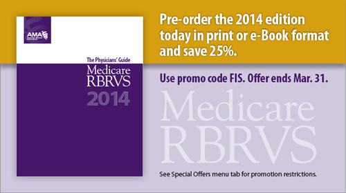 Hero - medicare RBRVS 2014 - jan 2014